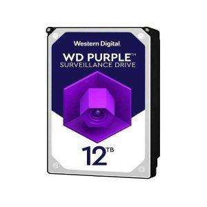 هارد وسترن دیجیتال بنفش 12 ترابایت WD120PURZ