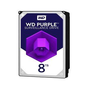 هارد وسترن دیجیتال بنفش 8 ترابایت WD80PURZ