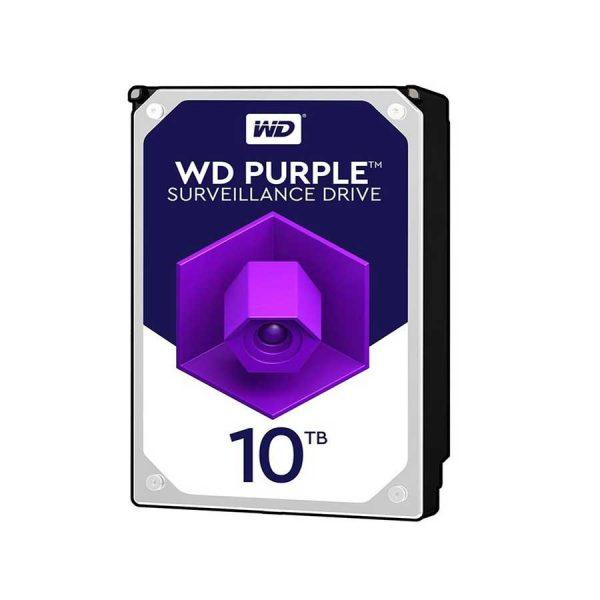 هارد وسترن دیجیتال بنفش 10 ترابایت WD100PURZ