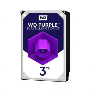 هارد وسترن دیجیتال بنفش 3 ترابایت WD30PURZ