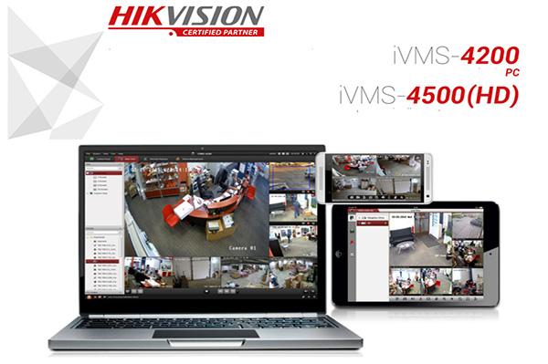 نرم افزار IVMS هایک ویژن