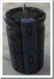 اندازه گیری خازن الکترولیتی ا مولتی متر