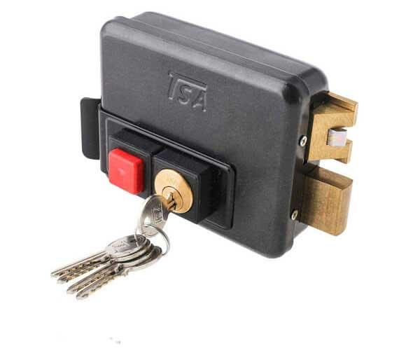 قفل برقی بیرون بازشو تسا